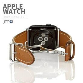 apple watch バンド Series 4 44mm 40mm 対応 本革 レザー 42mm 38mm Series 1 2 3 4 対応 アップルウォッチ ベルト シリーズ 1 2 3 4 ブランド 折りたたみ式バックル