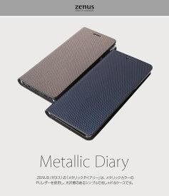 Galaxy Note8 ケース 手帳 ZENUS Metallic Diary samsung galaxy note 8 ケース ゼヌス メタリックダイアリー 手帳型 ブランド ギャラクシー ノート8 ケース