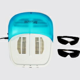 New UVフットケア 家庭用紫外線治療器1年保証付き!CUV-2 紫外線治療器UV フットケアは長年水虫にお悩みの方におススメ!強力紫外線で水虫菌(白癬菌)を殺菌!足の臭いも改善!お家でこっそり水虫退治