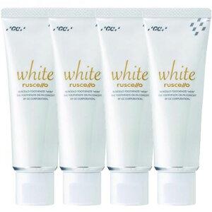4個セットまとめ買いGCルシェロ歯磨きペーストホワイト100g