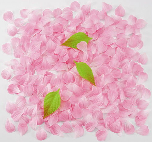 【造花・シルクフラワー】桜吹雪(ピンク)約600枚