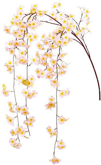 【造花・シルクフラワー】しだれ桜大枝