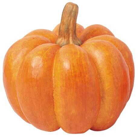 【造花・観葉・秋の造花・枝・秋色・食品サンプル・かぼちゃ・南瓜】ジャイアントパンプキン(L)