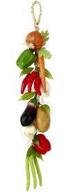 【食品サンプル・果物・野菜・フルーツ・ベジタブル】アソートベジタブルストリング x 10(BC付)