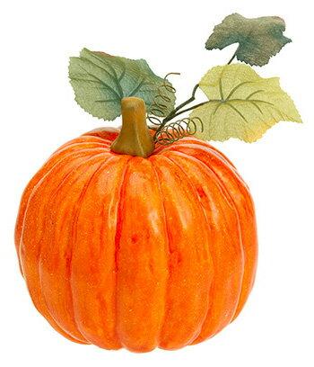 【造花・観葉・秋の造花・枝・秋色・食品サンプル・かぼちゃ・南瓜】オハイオパンプキン(L)(BC付)