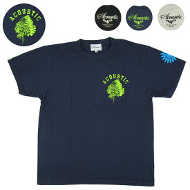Acoustic アコースティック 半袖Tシャツ ACOUSTIC AC20201