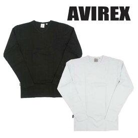 AVIREX アヴィレックス 長袖Tシャツ デイリー Vネック 617394/6153480