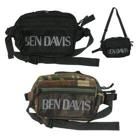 BEN DAVIS ベンデイビス PRINT 2WAY SHOULDER ウエストバッグ BDW-9255