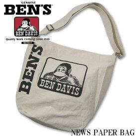 BEN DAVIS ベンデイビス NEWS PAPER BAG ショルダーバッグ サコッシュ BDW-9190