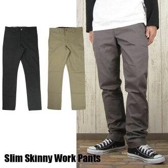 Dickies Dickies 67 collection skinny slim Stretch Twill Slim Skinny Work Pants WP310 (men/bottoms/work pants/skinny/slim/stretch)