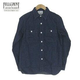 FULLCOUNT フルカウント デニム ワークシャツ DENIM WORK SHIRTS 4890