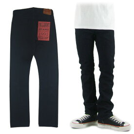 FULLCOUNT フルカウント 1109SRB SLIM SUPER ROUGH INDIGO x BLACK