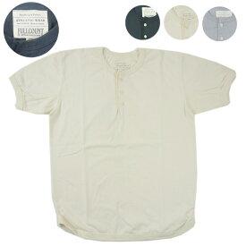 FULLCOUNT フルカウント ヘンリーネック フラットシーム Tシャツ FLAT SEAM HEAVY WEIGHT HENLEY TEE 5222H