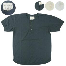 FULLCOUNT フルカウント ヘンリーネック フラットシーム Tシャツ FLAT SEAM HEAVY WEIGHT HENRY TEE 5222H