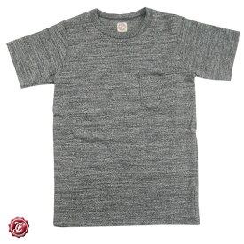 FULLCOUNT フルカウント ガラガラ紡績杢スラブ天竺 Tシャツ GARABOU HEATHER POCKET T-SHIRTS 5962EX