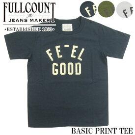 FULLCOUNT フルカウント プリント Tシャツ BASIC PRINT TEE 5959