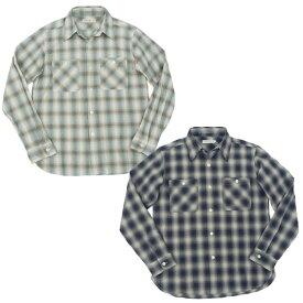FULLCOUNT フルカウント 4813 OMBRAY CHECK SHIRTS オンブレー チェックシャツ FULL COUNT