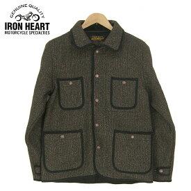 IRON HEART アイアンハート ビーチクロス カバーオール BEACH CLOTH CHORE JACKET IHW-09