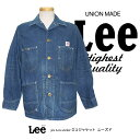 Lee RIDERS THE ARCHIVES VINTAGE MODEL COVERALL 30s LOCO JACKET ロコジャケット ユーズド 0243...