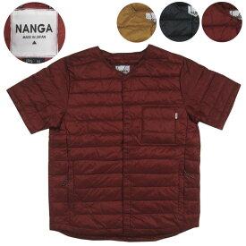 NANGA ナンガ ダウンTシャツ 半袖ダウン
