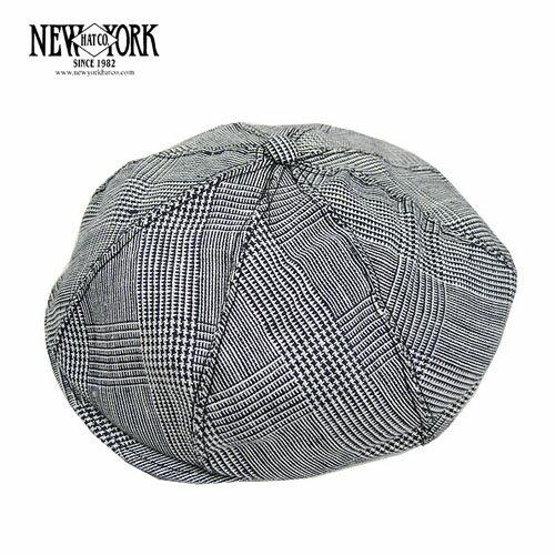 ニューヨークハット NEW YORK HAT & CAP Co. リネンプレイド ギャッツビー キャスケット 米国製 Linen Plaid Gatsby 6299