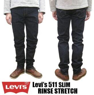 Levi's / Levi's 511 瘦冲洗拉伸 Levi's 经典紧身 LV-00511-1322年 !免费下摆了 ! (男子见底 / 牛仔裤 / 李维斯 / 休闲 / 休闲 /Levis)