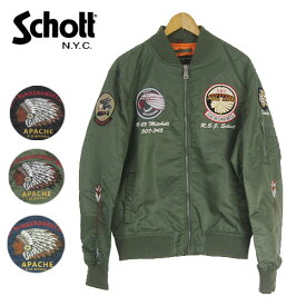 Schott NYLON MA-1 APACHE ミリタリージャケット 3172014