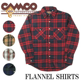CAMCO カムコ フランネルシャツ 2016