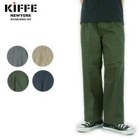 KIFFE キッフェ ワイドパンツ OFFICER WIDE PANTS KF180TC14021