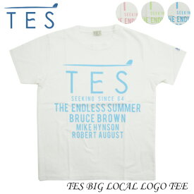 TES エンドレスサマー TシャツTES BIG LOCAL LOGO TEE MX-8574346
