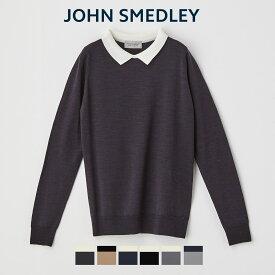 【送料無料】[公式] ジョンスメドレー/JOHN SMEDLEY レディース 長袖ニットポロシャツ A4448 2021AW