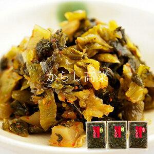 大薗漬物 霧島の味 からし高菜 90g×3袋セット