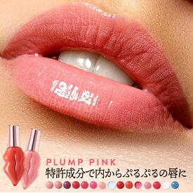 ※旧パッケージ※ PLUMP PINK プランプピンク リップグロス リップ プランプ美容液 プランプリップ リッププランパー 唇 グロス 美容液 縦じわ 唇ケア 保湿 10代 20代 30代 40代 ギフト プレゼント 日本製
