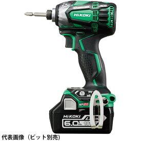 【送料無料】HiKOKI・日立工機 コードレスインパクトドライバ 18V 6.0Ah 緑 WH18DDL2(2LYPK)(L)