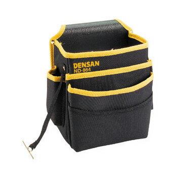 JEFCOM ジェフコム/DENSAN デンサン電工キャンバスハイポーチND-864【当店はジェフコム正規取扱店です】