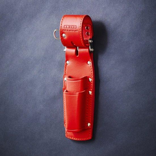 KNICKS・ニックス チェーン式親子2段ペンチホルダー レッド KR-201PLDX