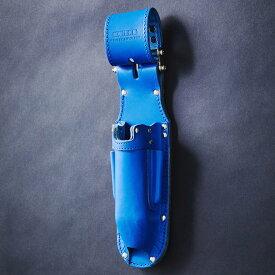 KNICKS・ニックス チェーン式折畳式充電ドライバーホルダー ブルー KBL-111JOCDX