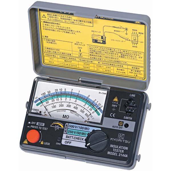 KYORITSU/共立電気計器 アナログ絶縁抵抗計 3148Aキューメグ