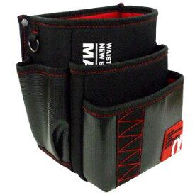 MARVEL・マーベル WAIST GEAR 腰袋三段タイプ レッド MDP-93AR