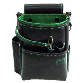 MARVEL・マーベル WAIST GEAR ハイクオリティーレザーシリーズ 腰袋ハイクオリティーグリーン MDP-210HG