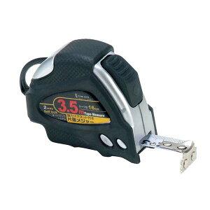 イチネンMTM ミツトモ オートロックメジャー 3.5m テープ巾16mm マグネット付 31217