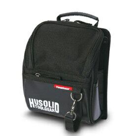 ペンギンエース/Penguinace HUSOLID TOOLGEAR HT-003 作業用フタ付腰袋 M