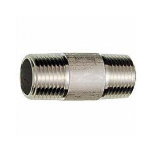 三栄水栓製作所/SANEIステンレス長ニップル 呼び:10 長さ:200 TS205L-10X200