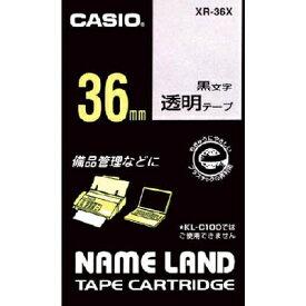 カシオネームランド用テープXR36X【22403】