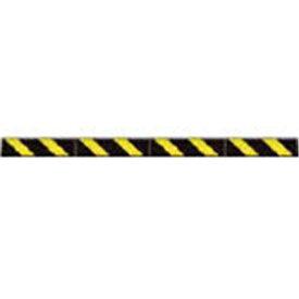 つくしコーナークッションスリム 黒地 黄色反射シートC201A【4215257】