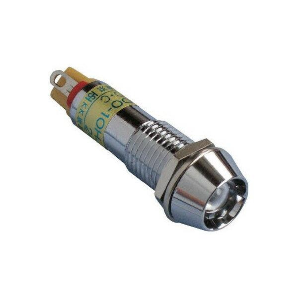 坂詰製作所メタルフレーム形LED表示灯φ10DO10HJTDC24VO【4131576】