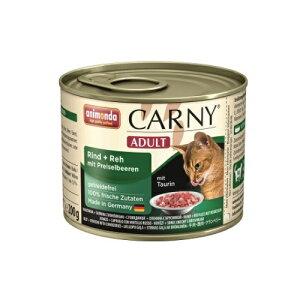 【アニモンダ】カーニーミート アダルト 牛肉・鹿肉・クランベリー 200g ウェット缶キャットフード【ポイント5倍】【あす楽対応】