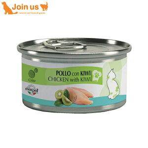 【シェフ】キャット缶[チキン・キウイ]キャット缶フード1缶/80g