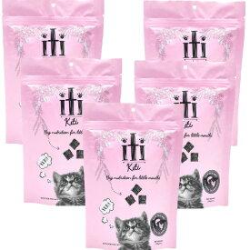 イティ iti 猫 [チキン&サーモン] 1kg(200g×5袋)ドライキャットフード【送料無料】【ポイント10倍】【あす楽対応】
