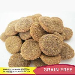 ルーシーペットプロダクツサーモン、パンプキン&キヌアドッグフード4.5ポンド(2kg)